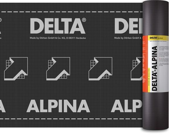 Гидроизоляционная пленка DELTA ALPINA