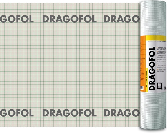 Гидроизоляционная пленка DRAGOFOL