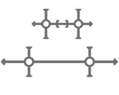 Гидрошпонка «Аквастоп» УВ 100-4/30 ПВХ-П